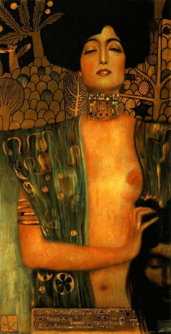 Klimt: Judith I (1901) – Belvedere, Viena