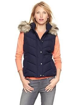 Find puffer vest fur trim at ShopStyle. Shop the latest collection of puffer vest fur trim from the most popular stores - all in one place.