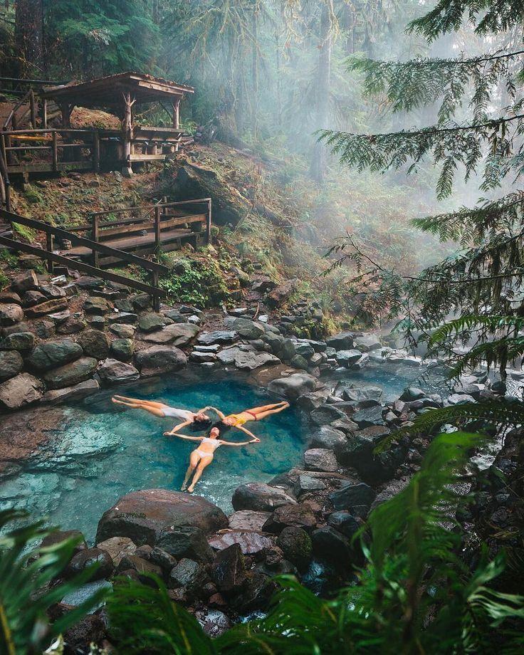 Umpqua Hot Springs- Oregon, USA. | Vacation, Travel, Umpqua hot springs