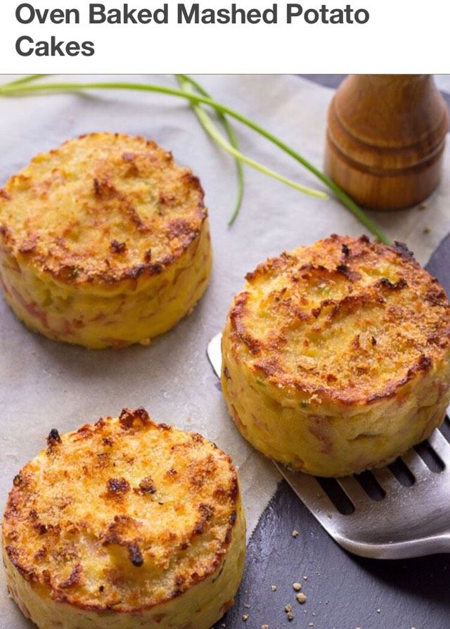 Baked Mashed Potatoes Cake#Recipes#Trusper#Tip