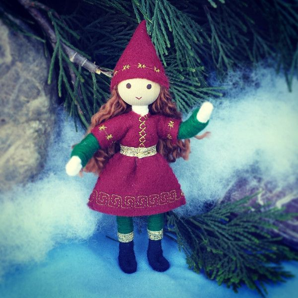 Kindness elves handmade Wildflower Toys