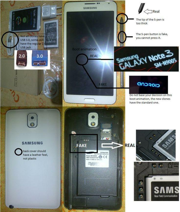 İmitasyon yâda kopya Galaxy Note 3 nasıl anlaşılır?
