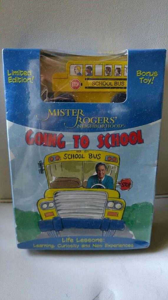 Mister Rogers' Neighborhood Going to School DVD / school