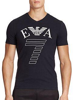 EA7 Emporio Armani - Logo Cotton Tee