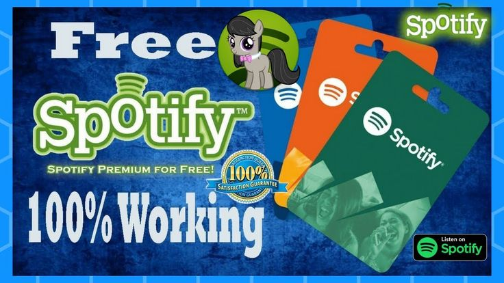How to get spotify code free spotify gift card