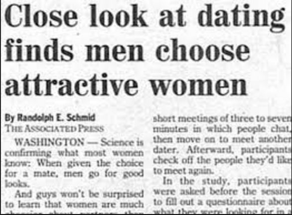 Dating headlines for men