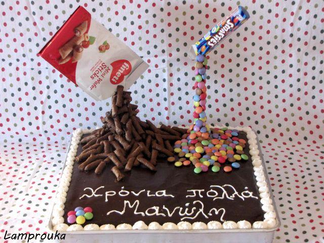 Lamprouka: anti-gravity cake