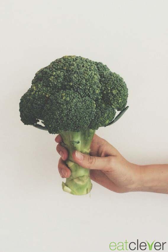 #Brokkoli, ein echtes Superfood! Zu den gesündesten Gemüsesorten zählt es unteranderem aufgrund seines hohen Magnesiumgehalts. #foodfact #cleverfood