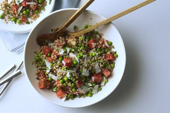 5 insalate di cereali da preparare tutta l'estate
