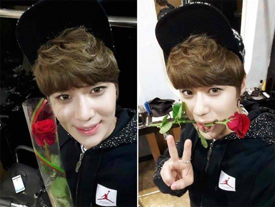 SHINees Taemin celebrates Coming of age day with seductive selcas ~ Latest K-pop News - K-pop News | Daily K Pop News