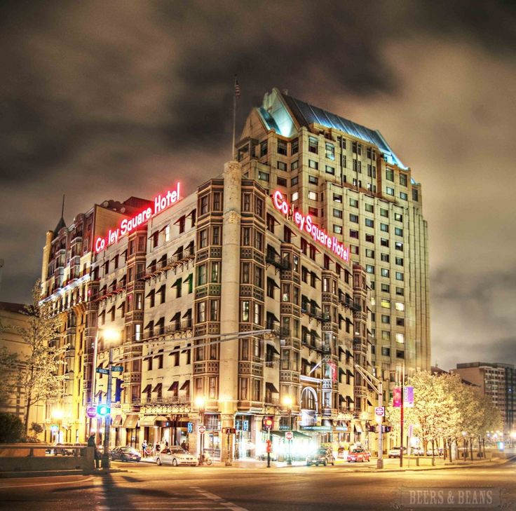 Copley Square Hotel In Boston Ma Usa An Awesome Boutique Photo By