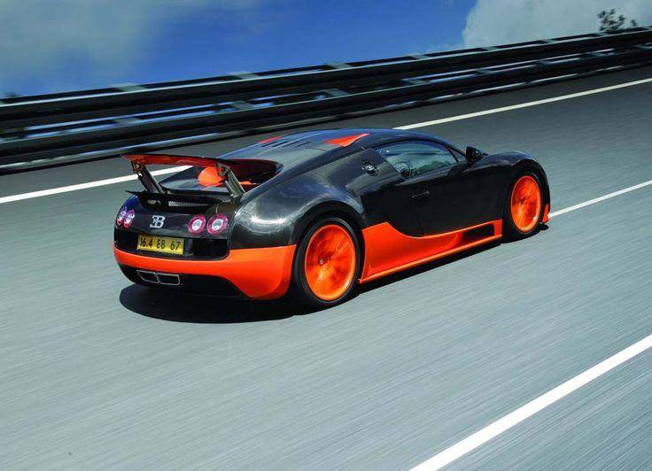 Bugatti Veyron Super Sport 1200 HP And Km/h In June 2010 Number 1 Fastest  Car.