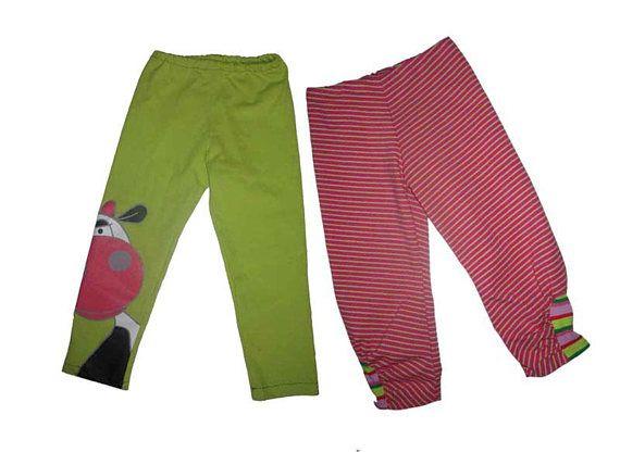 elegant im Stil erstaunliche Qualität Geschäft schmale Hose für Kinder nähen Gr.98-164 einfache Leggings ...