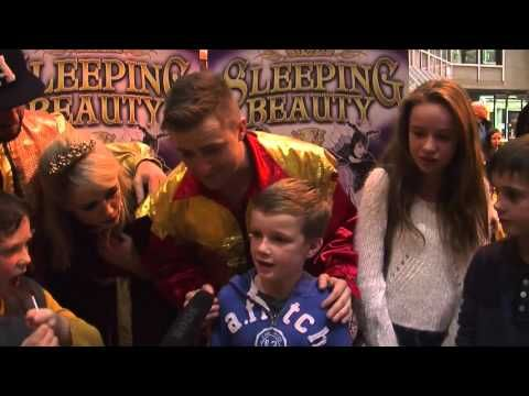 #TB Check out the audience reactions to Sleeping Beauty at UCH #LoveLimerick #UCH