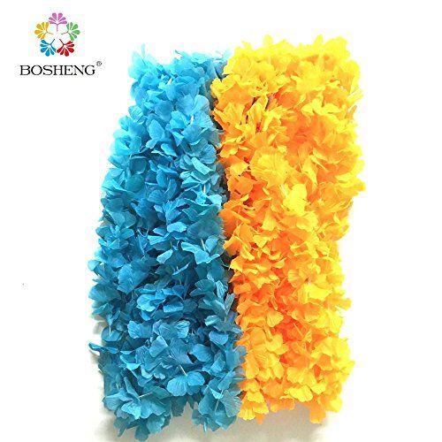 BOSHENG Hawaiian Colorful Luau Flower Leis Necklaces for ... http://www.amazon.com/dp/B01E4SEUI6/ref=cm_sw_r_pi_dp_X8Lrxb14JAYTS