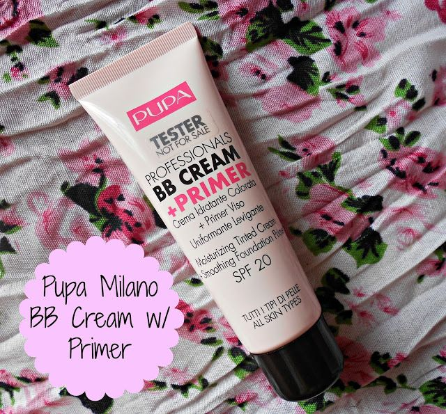 Lola Loves Sparkles: Pupa Milano Professionals BB Cream + Primer [Review]