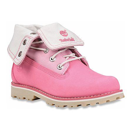 PINKED OUT: Pink Girls' Timberland Timberland Authentics Canva...