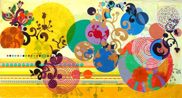 BRAZIL BY LOCALS: Beatriz Milhazes. Brazilian Painter. Art.