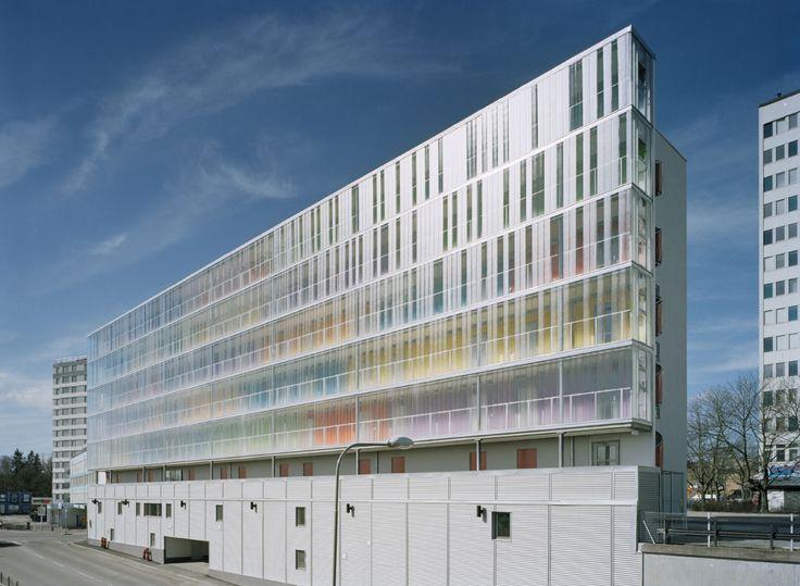 Residência de Estudantes em Estocolmo / Scheiwiller Svensson Arkitektkontor