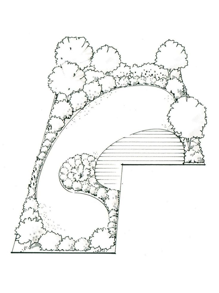 Is an L-shaped garden tricky to deal with? Yes. Are there stylish landscaping solutions? Definitely!