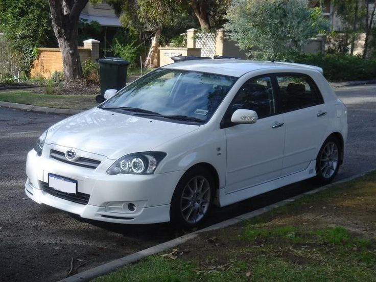 The body kit + HID refit = look that i'm going for with my RUNX - except in black :p