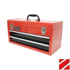 Homak 20-In 2-Drawer Red Steel Lockable Tool Box Rd01022001