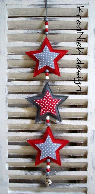 KreaNiek Design: Sterren Slingers XMAS decor / Xmas tree / ornaments / Christmas / styling The best Christmas decoration