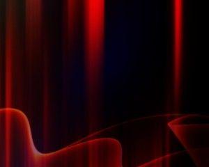 Dark Red Aurora Desktop Wallpaper Wide