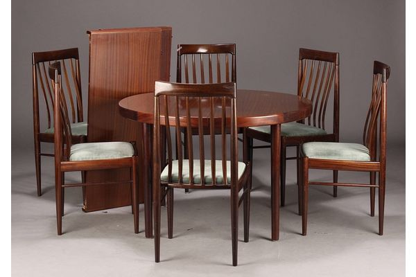 H.W.Klein Dining Set With 6 Chairs | vinterior.co