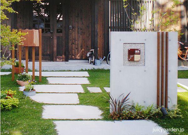 和風に似合うポスト・表札・照明・ガーデングッズ特集|エクステリアのジューシーガーデン