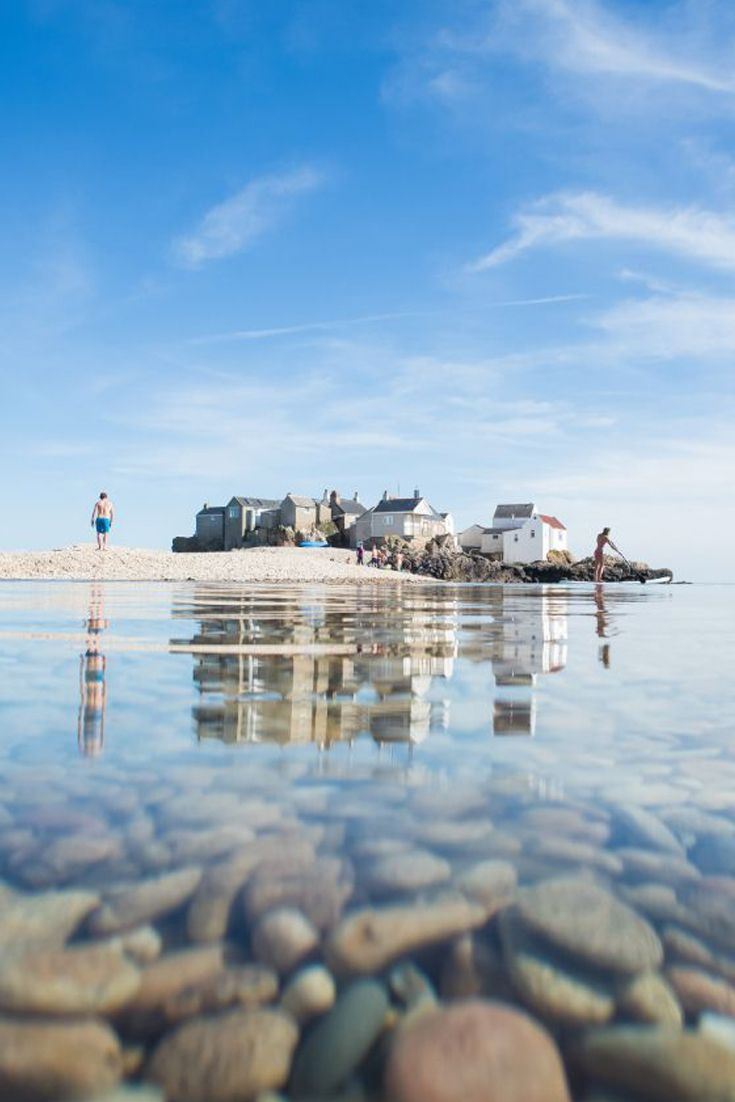 Crystal clear waters surrounding the Écréhous islands in Jersey, Channel Islands #EscapeToJersey