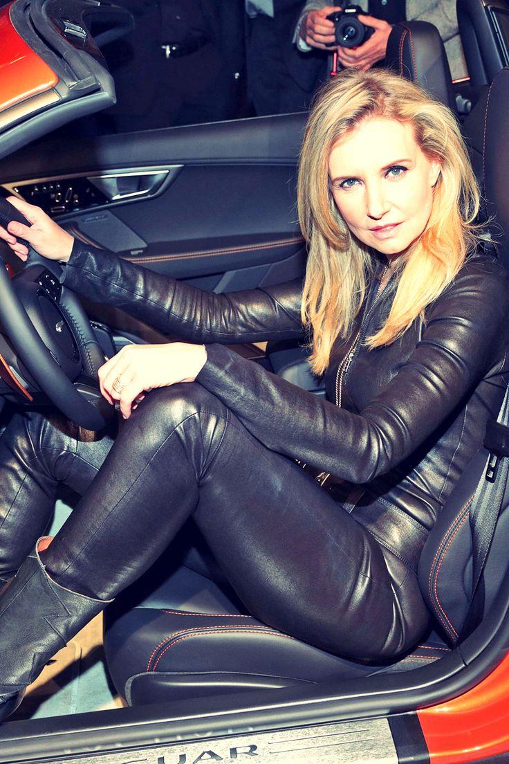 Jette Joop attends Jaguar Coupe Deutschland premiere ...