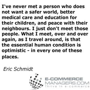 Inspirational #quote by Eric Schmidt