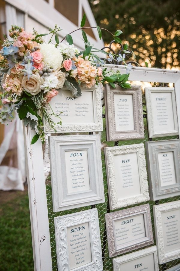 White Frames, Seating Chart, Rustic And Whimsical // Grant U0026 Deb  Photographers