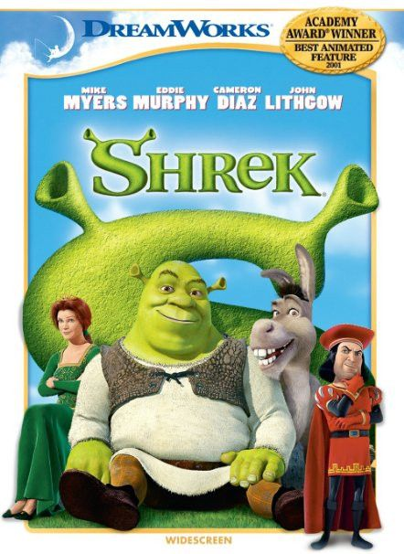Shrek DVD (Widescreen)