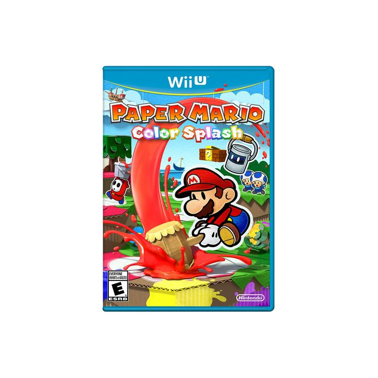 Paper Mario: Color Splash Nintendo Wii U