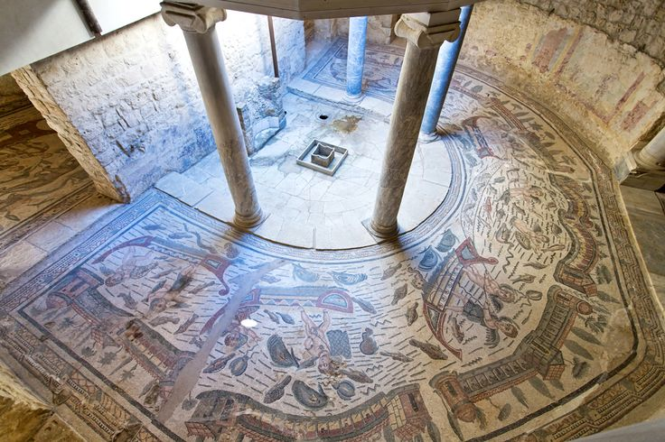 Sicily's Villa Del Casale, Home to the Finest Mosaics of the Roman World