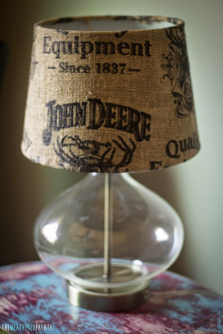 John Deere Lamp shade