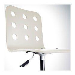 JULES Junior desk chair - white/silver-colour - IKEA