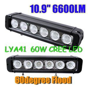 "10.9"" 60W 60 Degree Flood Light/8 Degree Spot Light Off/Combo road light 4wd boad 12V 24V"
