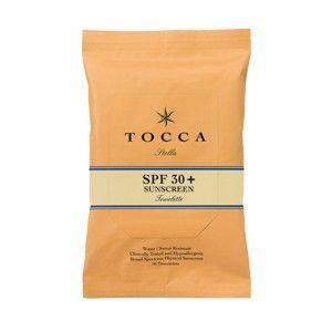 TOCCA SPF 30+ Sunscreen Towelettes in Stella , $24.00 #birchbox