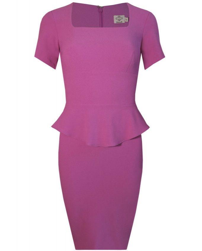 Celia #dress from #divacatwalk #Spring2014 #collection #peplum