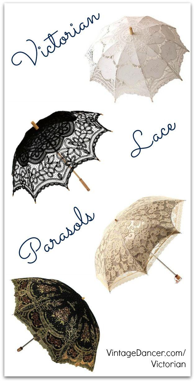 Victorian Parasol And Lace Umbrellas Lace Umbrella Lace Parasol Umbrella