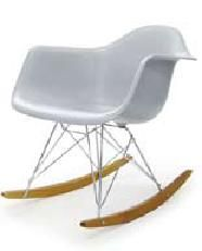 rocking chair by eames white elf miniatures