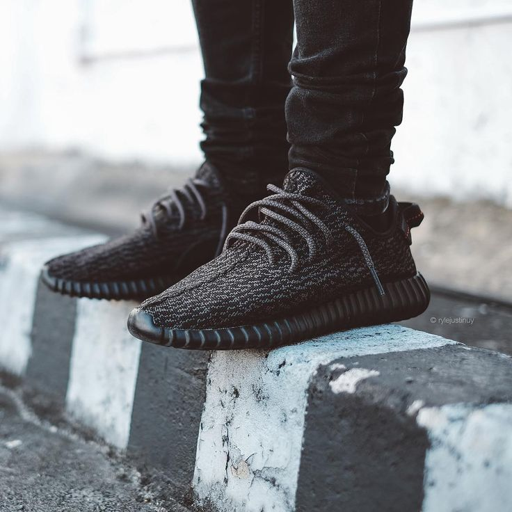 Black Yeezy Boost 350