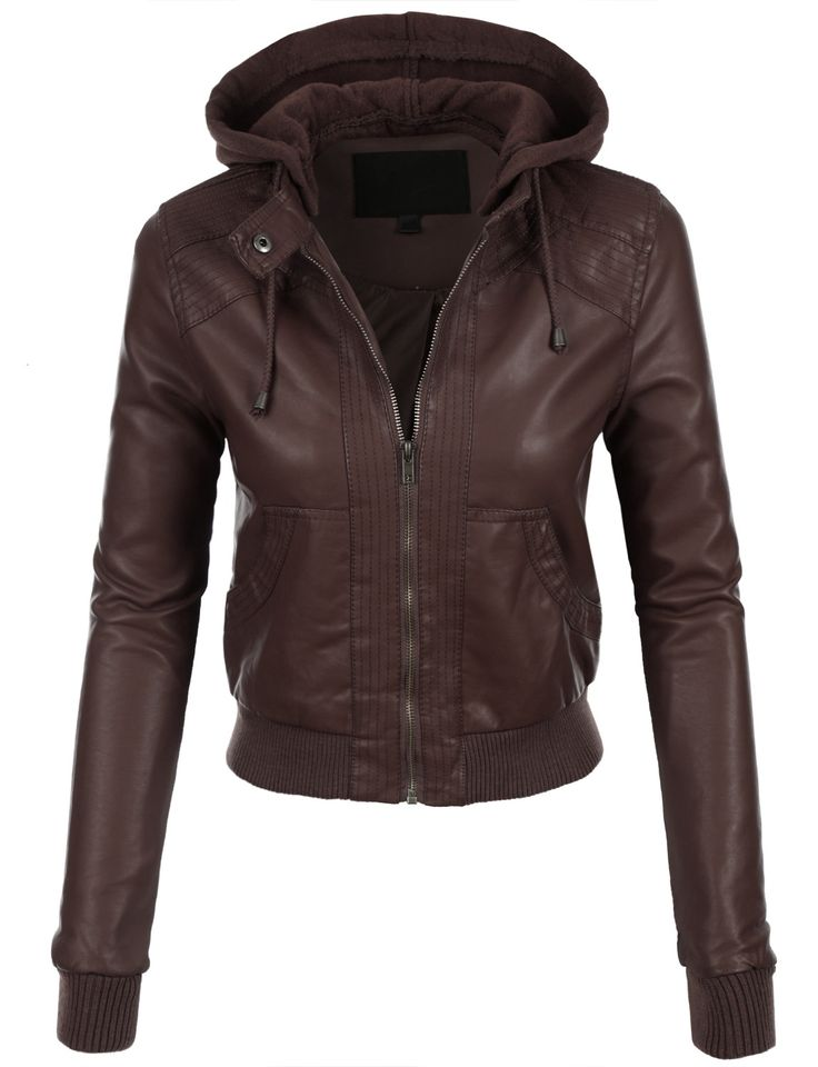 Cute leather jackets for women