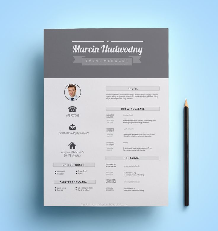professional resume design follow us on etsy