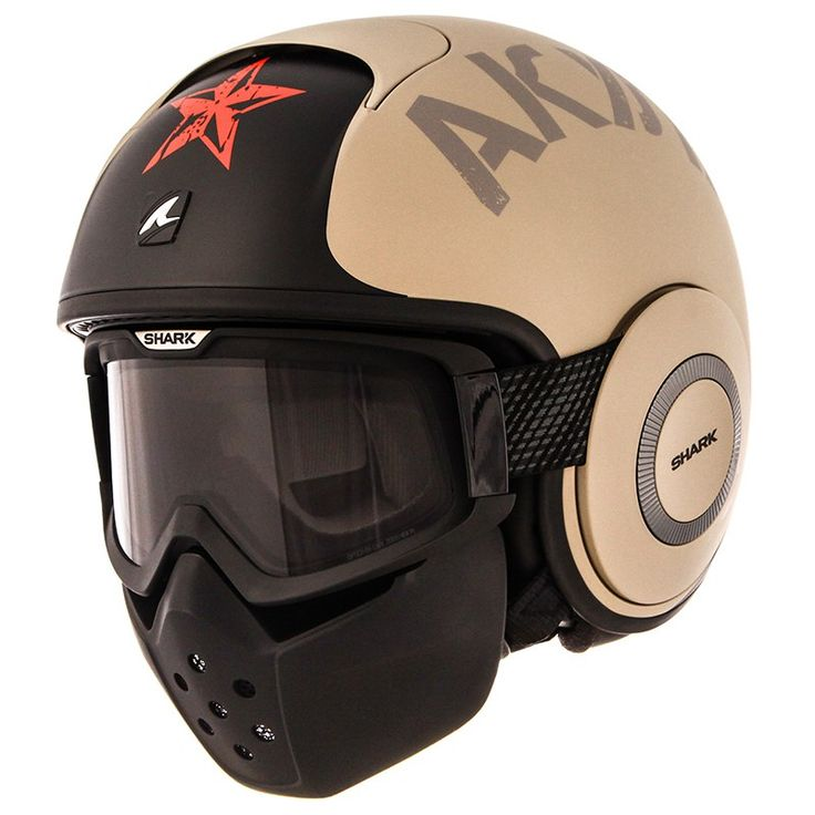 Casco Shark RAW SOYOUZ MAT                                                                                                                                                                                 Más