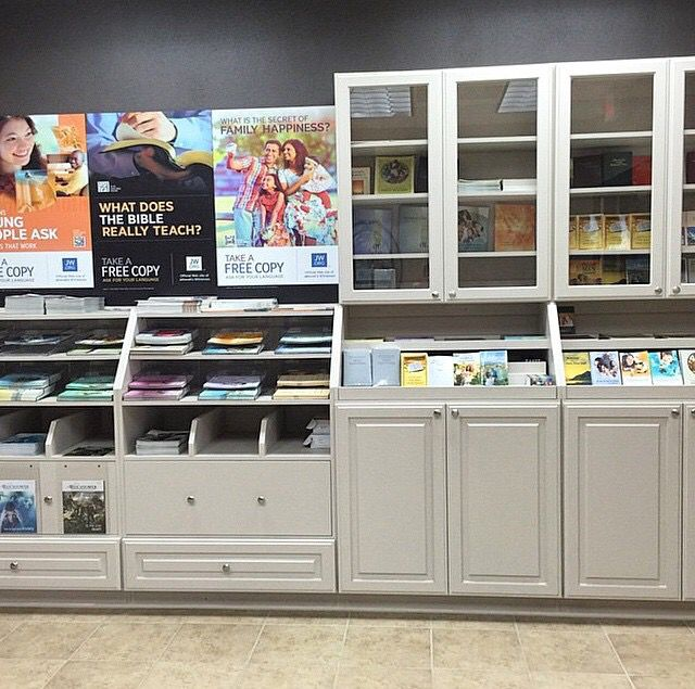 The new standard self service literature counter  Our