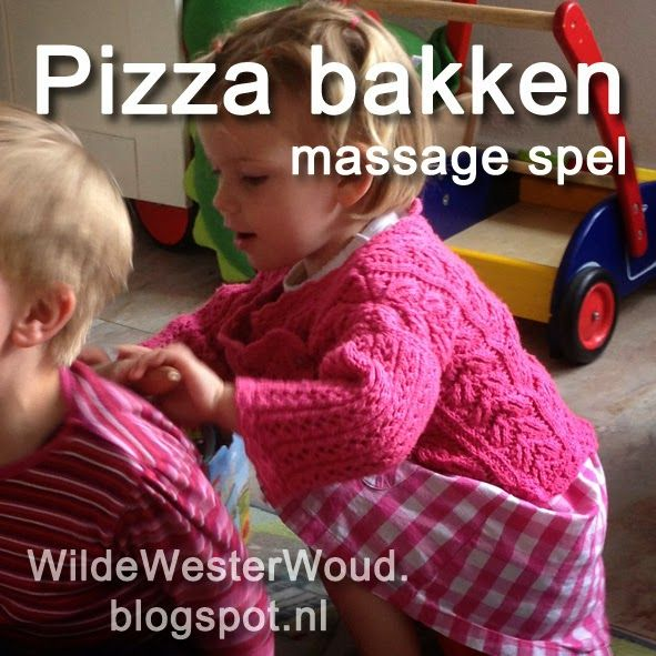 Pizza Backen Massage